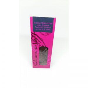 Palet chocolat saveur Framboise 120 grs