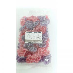 Bonbons Violette / Coquelicot 150 grs
