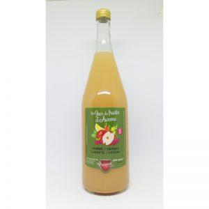 Jus de Pomme Carotte Citron Orange