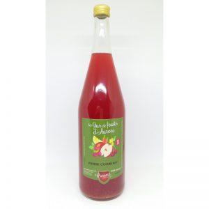 Jus de Pomme Cranberry