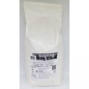 Farine Complète T110 2 kg Bio