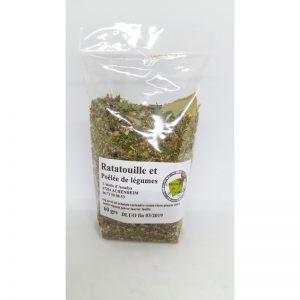 Mélange Ratatouille et Pôelée de légumes 60grs